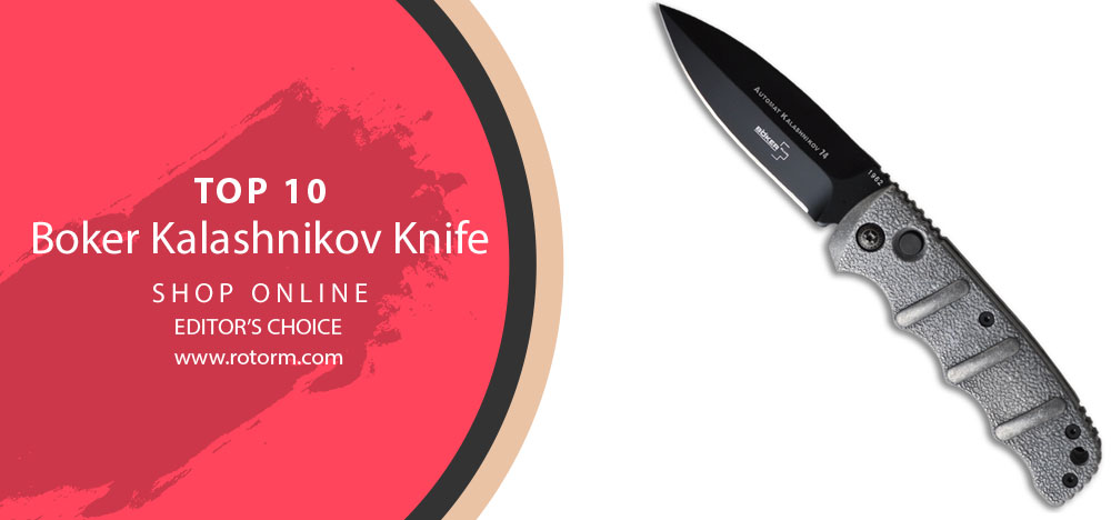 Best Boker Kalashnikov Knife - Editor's Choice