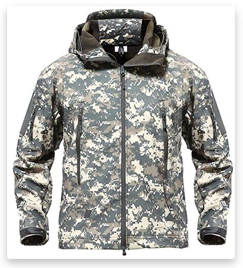 TACVASEN Men's Special Ops Military Tactical Jacket