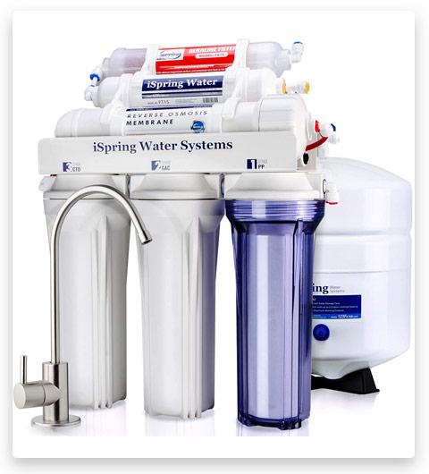iSpring RCC7AK 6-Stage Superb Taste (Alkaline Remineralization-Natural pH)
