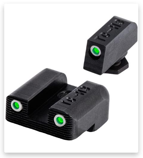 TRUGLO Tritium Handgun Glow-in-the-Dark Night Sights for Glock Pistols