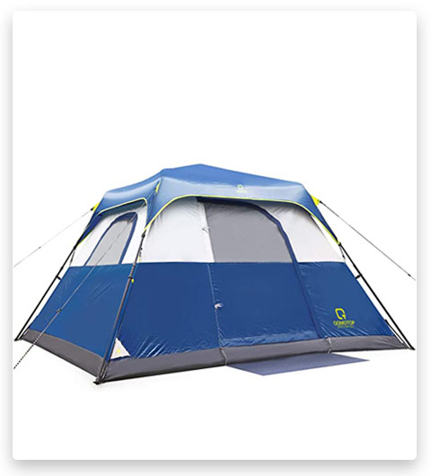 QOMOTOP Camping 10 Person Tent (Tent with Electric Cord Acess)