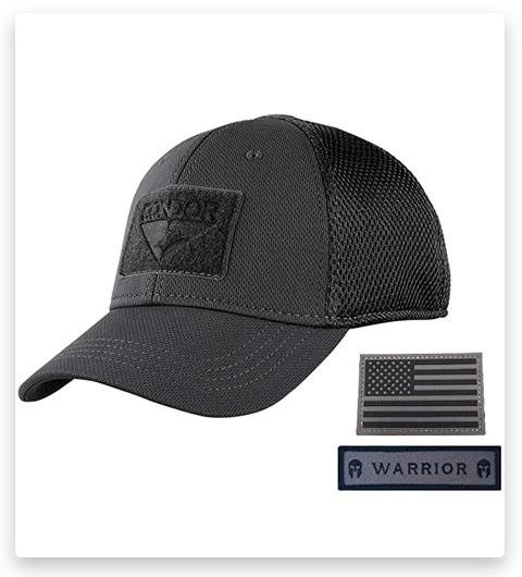 Condor Flex Mesh Cap, Black