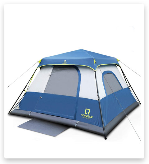 OT QOMOTOP 10 Person Instant Cabin Tent (with Rainfly)