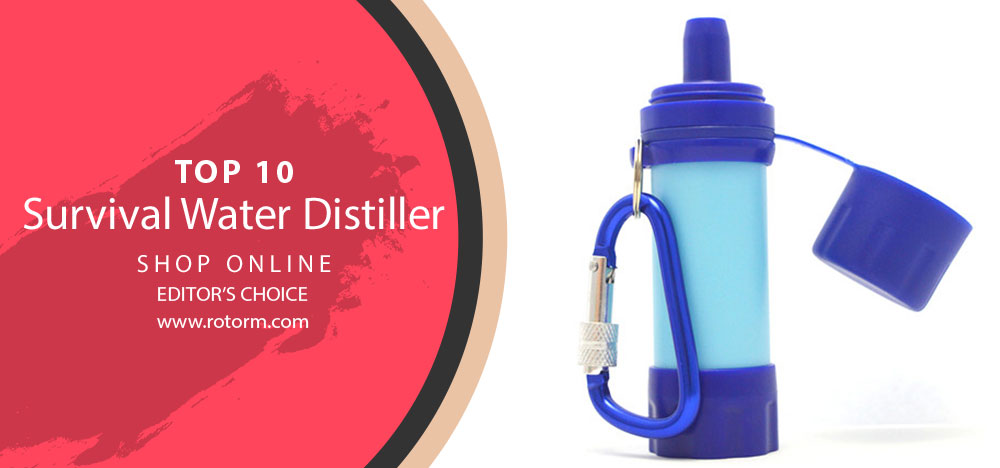 Best Survival Water Distiller - Editor's Choice