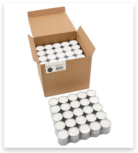 Stonebriar 6-7 Hour Long Burning Unscented Tea Light Candles