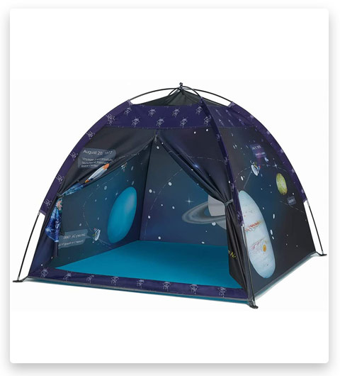 Space World Play Tent-Kids Galaxy Dome Tent (Playhouse for Boys and Girls)