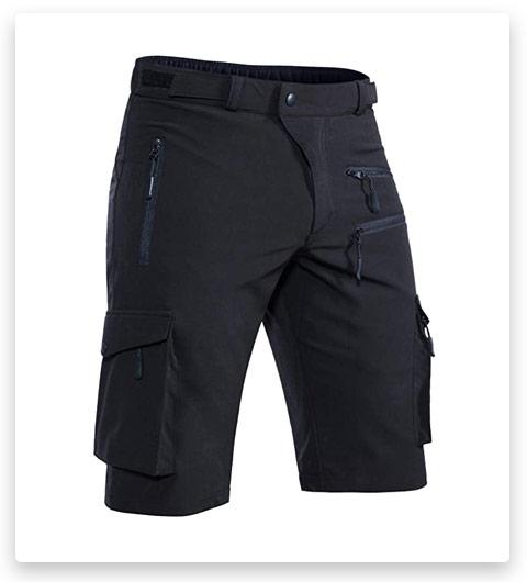 Hiauspor Men's Hiking Shorts Casual Cargo Shorts