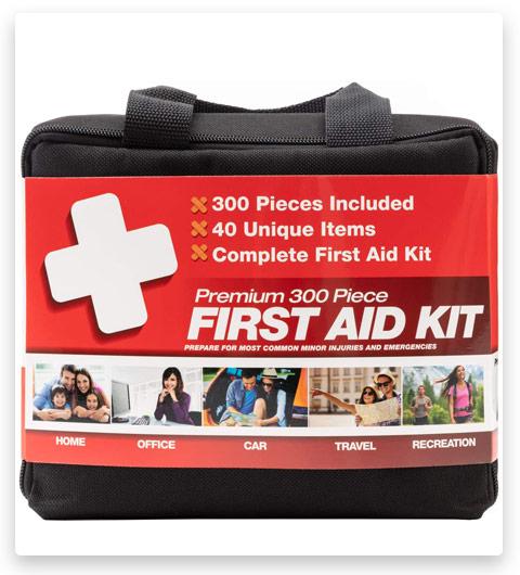M2 BASICS 300 Piece (40 Unique Items) First Aid Kit