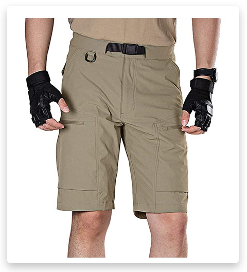 FREE SOLDIER Men's Lightweight Breathable Quick Dry Tactical Shorts