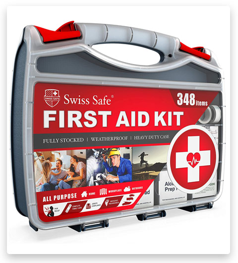 2-in-1 First Aid Kit (348-Piece)