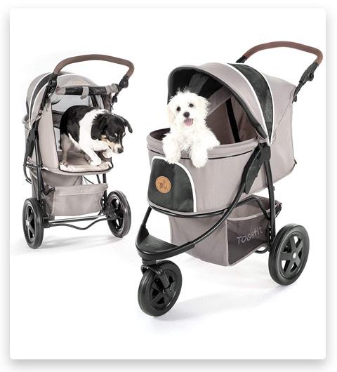 Hauck TOGfit Pet Roadster (Luxury Pet Stroller for Puppy)