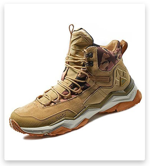 RAX Men's Wild Wolf Mid Venture Waterproof Lightweight Hiking Boots
