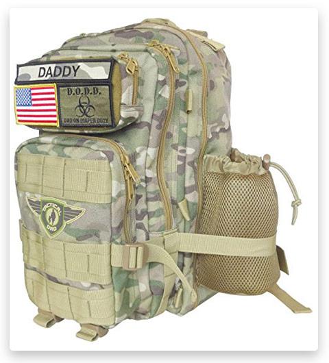 Tactical Dad Diaper Bag Backpack