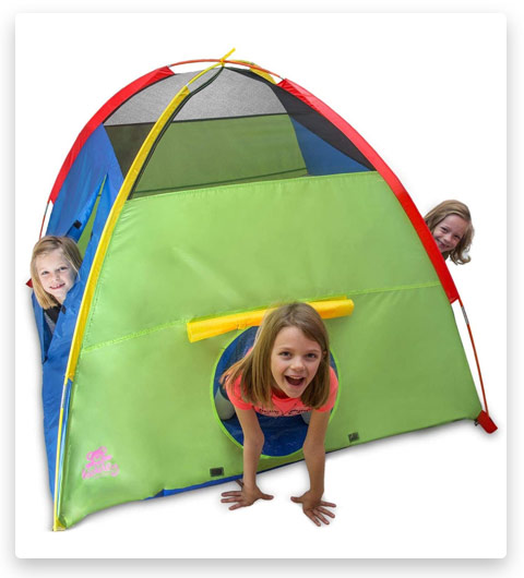 Kiddey Kids Play Tent & Playhouse (Indoor/Outdoor Camping Tent for Boys and Girls)