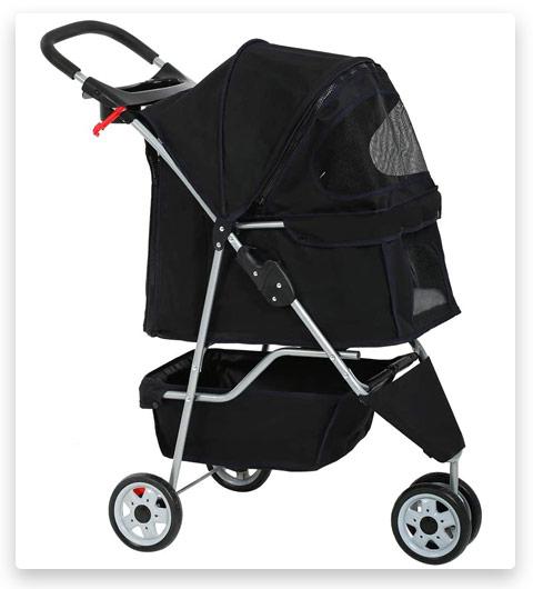 Dog Stroller Pet Stroller (for Medium Small Dogs)