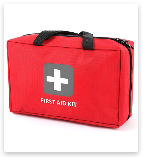 First Aid Kit – 291 Pieces – Bag. (Packed with Hospital Grade Medical Supplies)