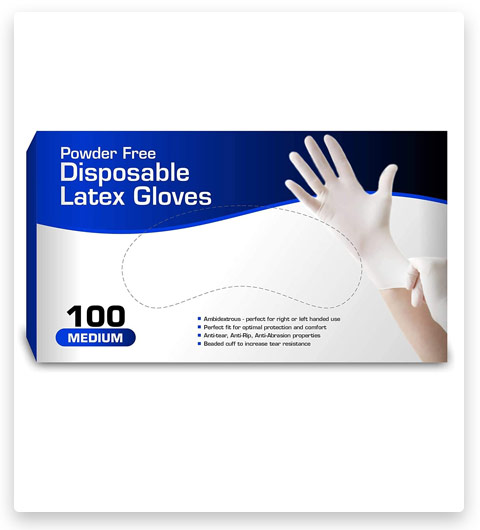 Disposable General Purpose Latex Gloves