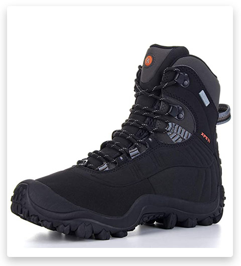 XPETI Men's Thermador Mid-Rise Waterproof Hiking Boots