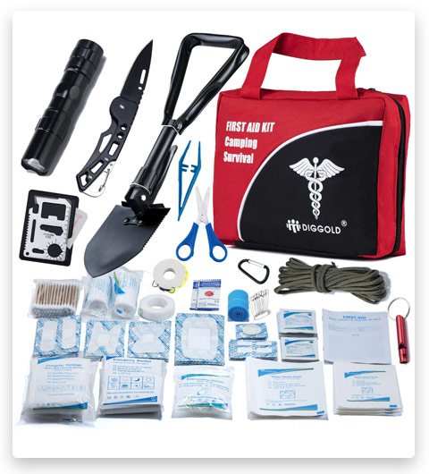 First Aid Kit Home Comprehensive (25 Items)