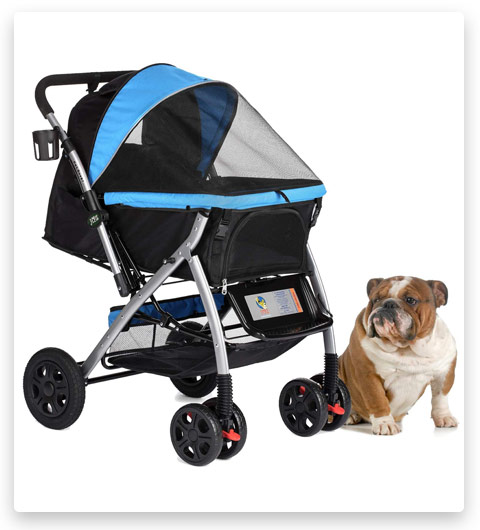 8 HPZ Pet Rover Premium Heavy Duty Dog/Cat/Pet Stroller