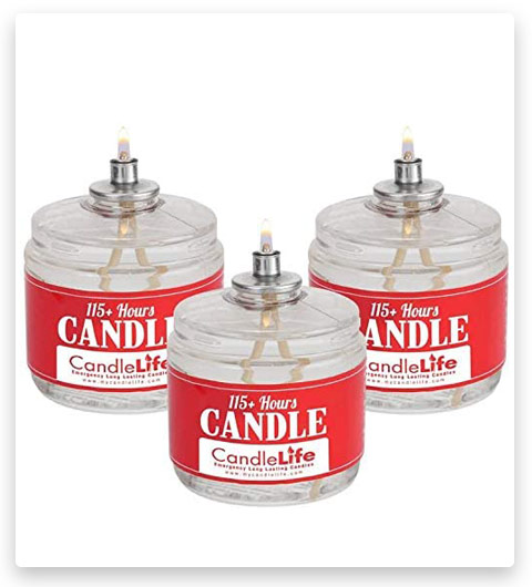 Sterno STN-3CND Emergency Candles