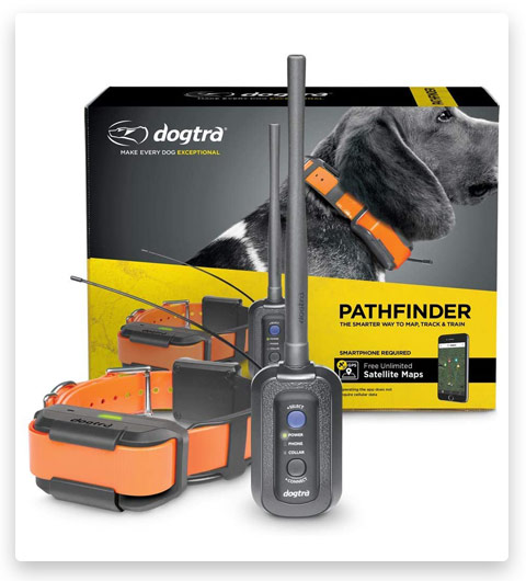 Dogtra Pathfinder 9-Mile 21-Dog Expandable Waterproof Smartphone GPS Tracking