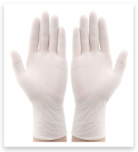 HOUSE DAY Protective Disposable Latex Gloves