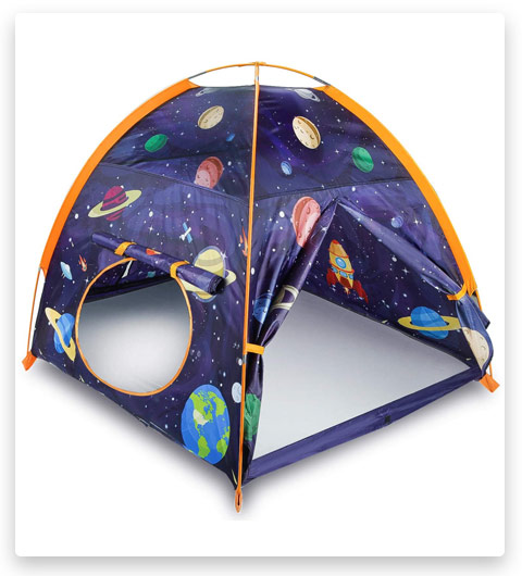 Mourinho Rocket Ship Play Tent Playhouse for Kids