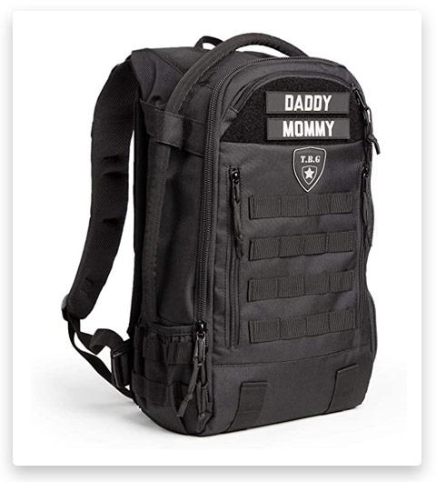 TBG - Men's Tactical Diaper Bag Backpack