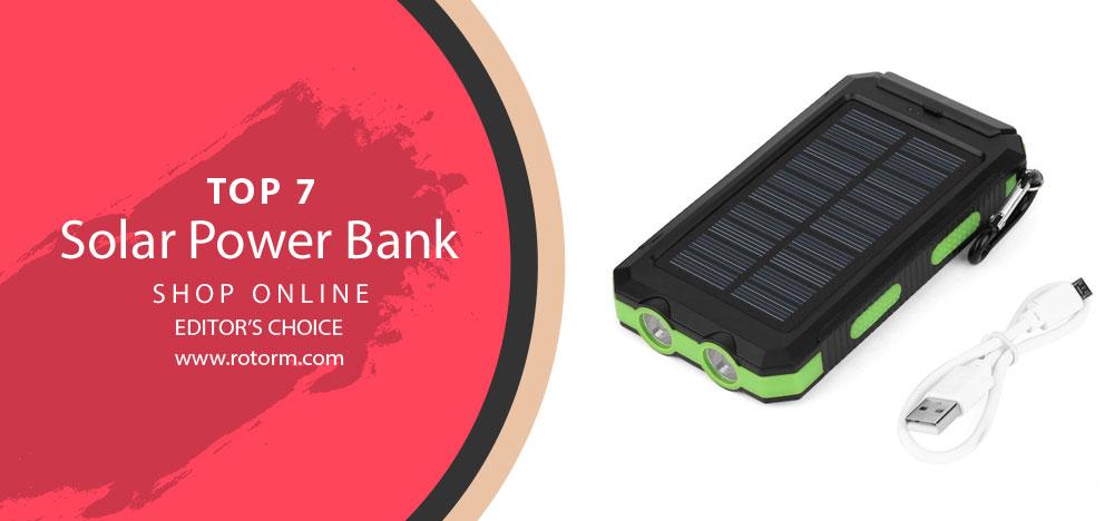 Best Solar Power Bank - Editor's Choice