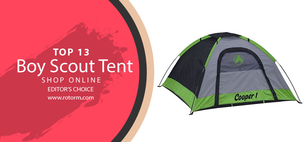 Best Tent For Boy Scouts - Editor's Choice