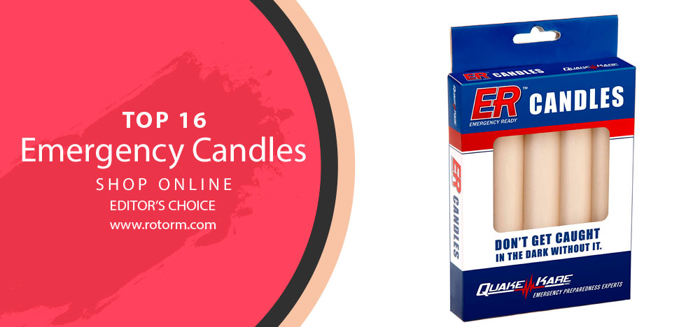 Best Emergency Candles - Editor's Choice