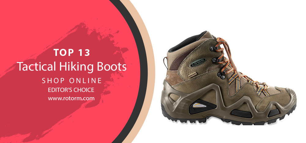 Best Tactical Hiking Boots - Editor's Choice