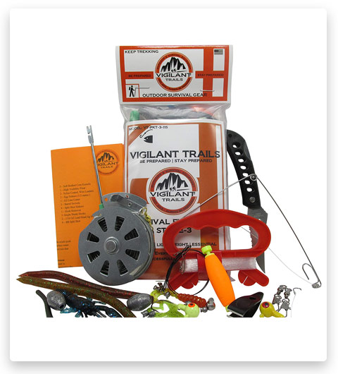 Vigilant Trails Pocket Survival Fishing Kit (Stage 3)
