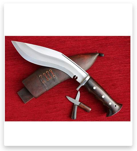 Genuine British Gurkha Iraq Operation Kukri Knife 8 inch Full Tang