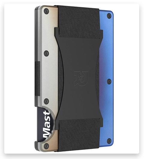 The Ridge Slim Minimalist Front Titanium Metal Wallets