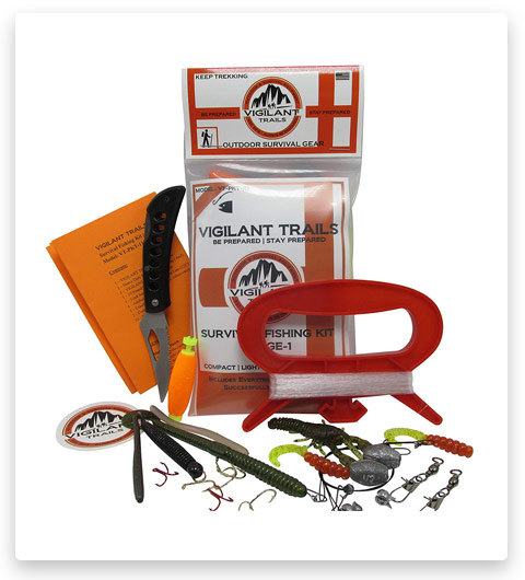 Vigilant Trails Pocket-Survival Fishing Kit