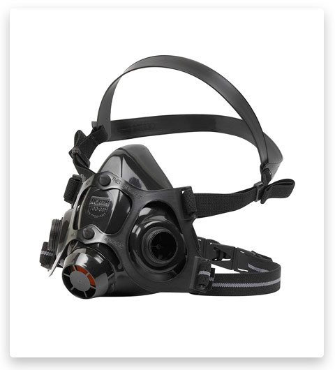 Honeywell North 7700 Series Niosh-Approved Half Mask Silicone Respirator
