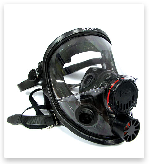 Honeywell North 7600 Series Niosh-Approved Full Facepiece Silicone Respirator
