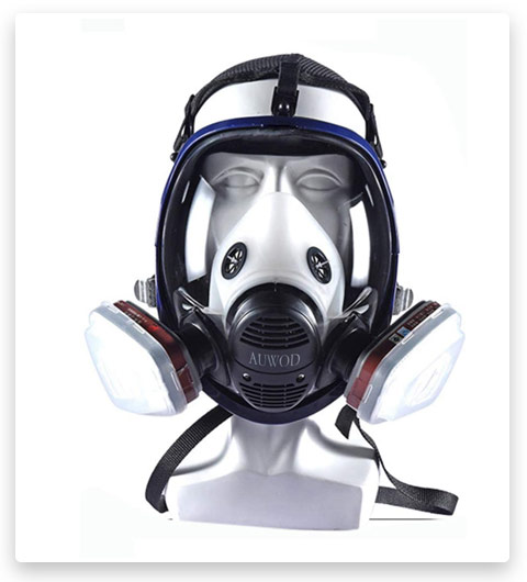 17in 1 Reusable full face Cover (Full Face Respirator)