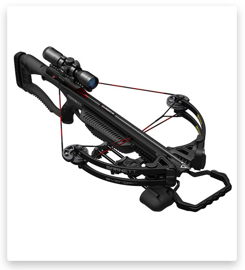 Model Barnett Avenger Recruit Crossbow | 330 Feet Per Second, Black (BAR78098)