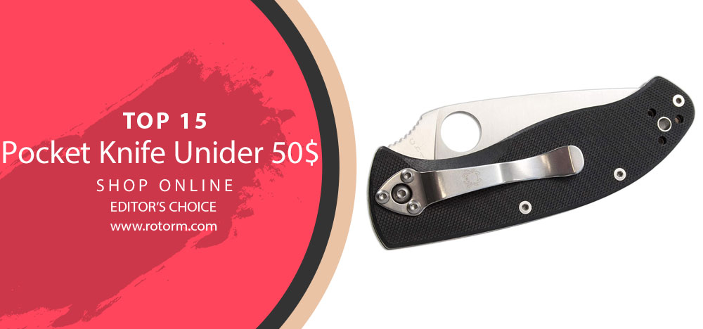 Best Pocket Knife Under 50$ - Editor's Choice