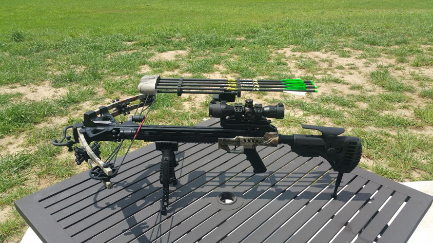 CenterPoint Sniper 370 Crossbow Set Camouflage Overview