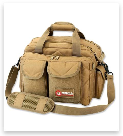 Orca Tactical Gun Range Bag for Handguns, Pistols and Ammo