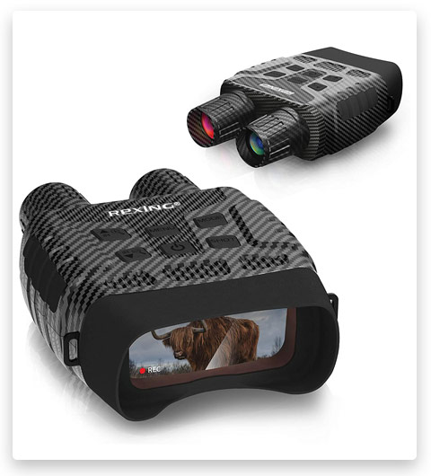 Rexing B1 (Carbon Fiber Color) Night Vision Goggles Binoculars