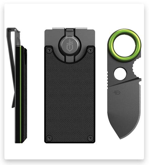 Bonus: Gerber GDC Money Clip | Built-in Fixed Blade Knife