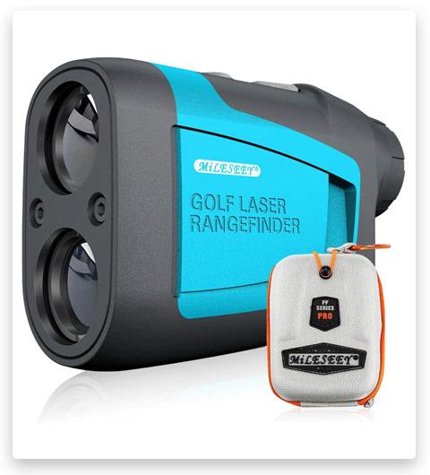 MiLESEEY Professional Precision Laser Golf Rangefinder 660 Yards