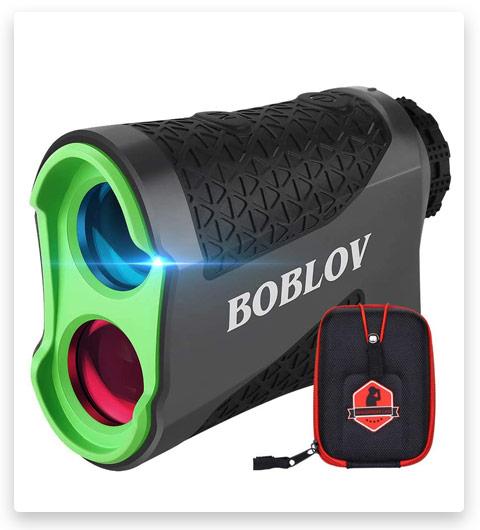 BOBLOV 650Yards Slope Golf Rangefinder Laser Golf Distance Scope