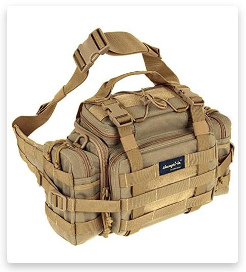 SHANGRI-LA Tactical Assault Gear Sling Pack Range Bag Hiking Fanny Pack