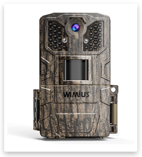 "WiMiUS H6 Trail Camera, Upgraded 2.0"" LCD 16MP 1080P"